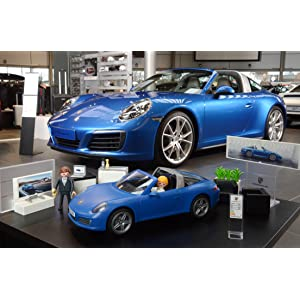 playmobil 5991 porsche 911 targa 4s with lights and. Black Bedroom Furniture Sets. Home Design Ideas