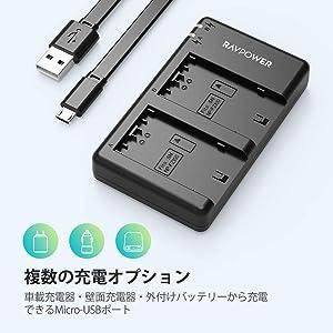 バッテリーパック NP-FZ100 充電器 (USB 急速充電) NP-FZ100