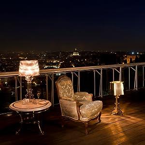 Kartell 9070q8 Lampe De Table Bourgie Noir