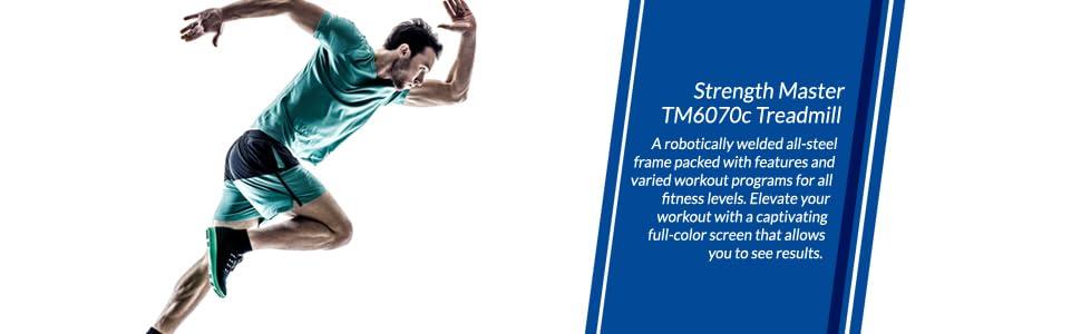 TM6070c treadmill home Strength Master