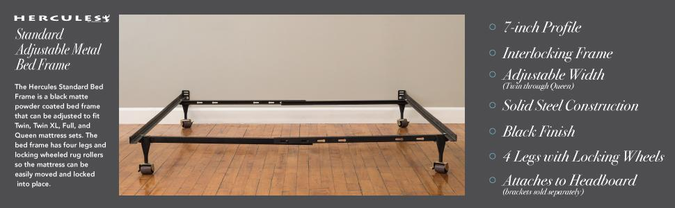 Amazon Com Classic Brands Hercules Standard Metal Bed Frame