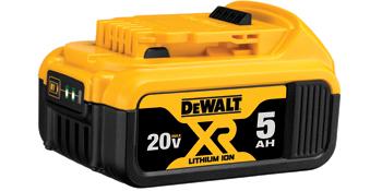 DCB205 - Bateria 20V MAX* Íon de Lítio 5.0 Ah