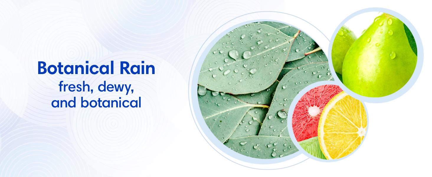 Botanical Rain fresh, dewy, and botanical