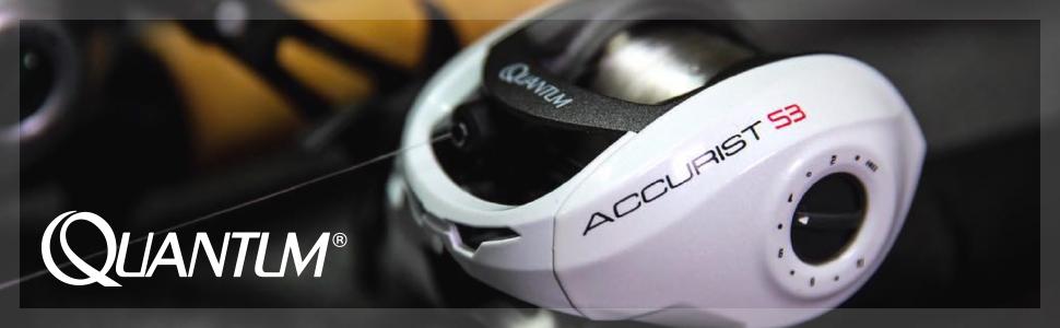 Quantum Accurist S3 PT Baitcast Reel and Fishing Rod Combo