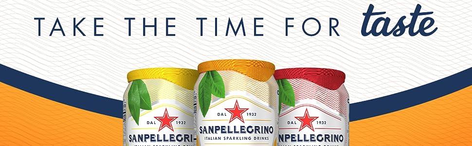 Take The Time For Taste Italian Sparkling Drinks ISD Sanpellegrino