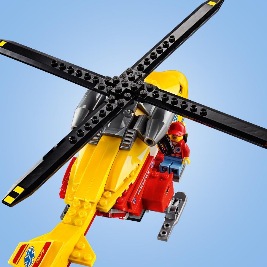 Elicottero E Ambulanza : Mondialtoys costruzioni lego city elicottero