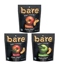 bare snacks coconut banana apple chips
