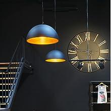 Plafonnier doré - Éclairage intérieur élégant - Design moderne et élégant.