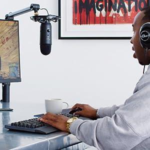Yeticaster, Micrófono Yeti, Blue Yeti, Blue Microphones, Micrófonos Blue, Micrófono USB, Streaming