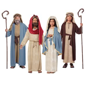 S, M or L MOSES Child Biblical Religious Costume
