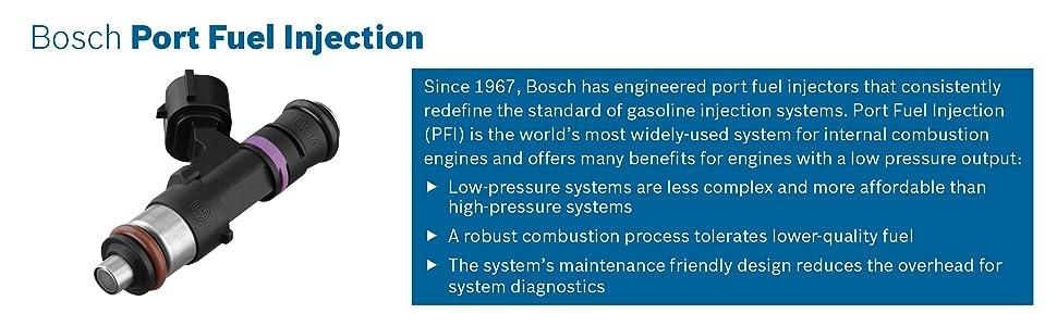 Fuel Injector- New Bosch 62391
