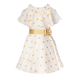 31bf7d6b0d Naughty Ninos Cotton Cut-Out Dress: Amazon.in: Clothing & Accessories