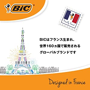 BIC 筆記 ブランド