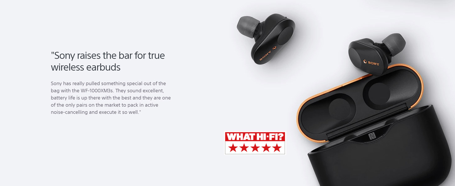 Sony raises the bar for true wireless earbuds - What Hi-Fi?