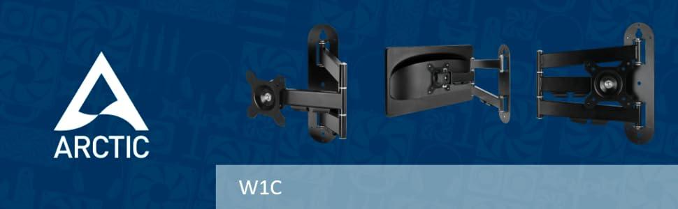 Arctic W1C monitor arm wall mount
