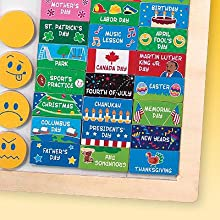Melissa Doug My First Daily Magnetic Calendar High Quality Www