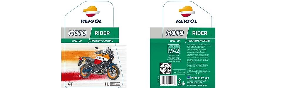 REPSOL MOTO RIDER 4T 10W-40