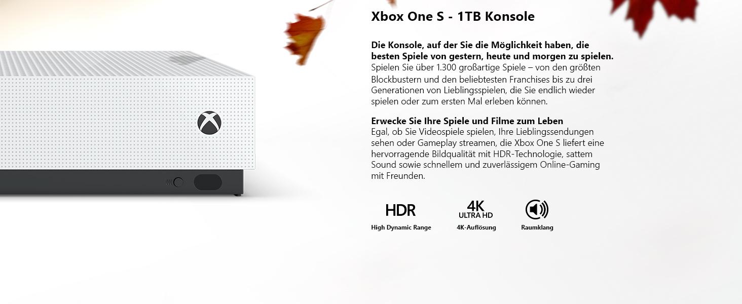 Xbox One S 1TB Konsole