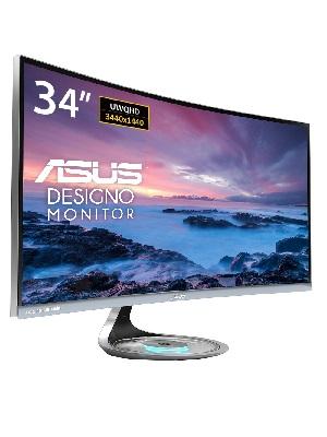 ASUS MX34VQ UltraWide Quad HD - Monitor pantalla para PC (86,4 cm (34
