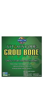 vitamin code grow bone system kit