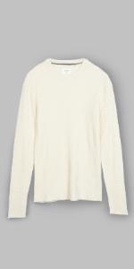 cashmere mini waffle sweater