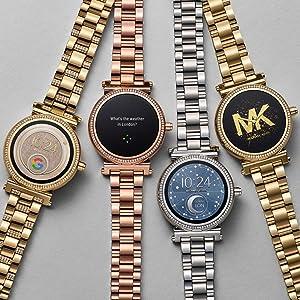 8e69615b4d4d Amazon.com  Michael Kors Access Sofie Touchscreen Smartwatch  Watches