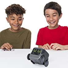 Boxer - Interactive AI Robot Toy (Black) with Personality and Emotions, for Ages 6 and Up