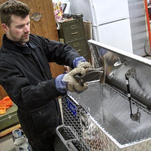 UWS Aluminum Storage Box Chest Thick