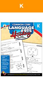 common core language arts for today workbook for kindergarten