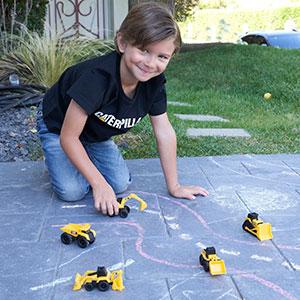Cat Caterpillar Little Machines 5 Pack Construction Truck Toys