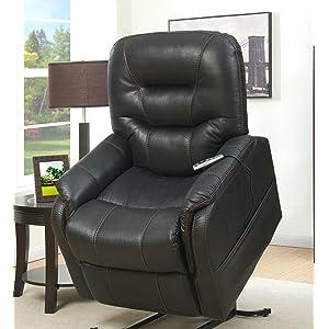heat u0026 massaging lift chair in badlands eclipse