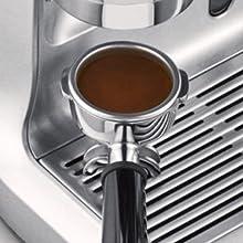 the Barista Express Espressomaschine von Sage, SES875BSS2EEU1