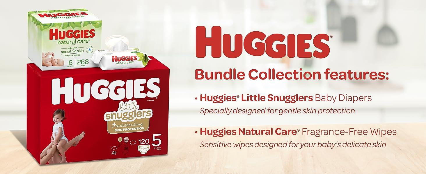 Huggies Little Snugglers Bundle