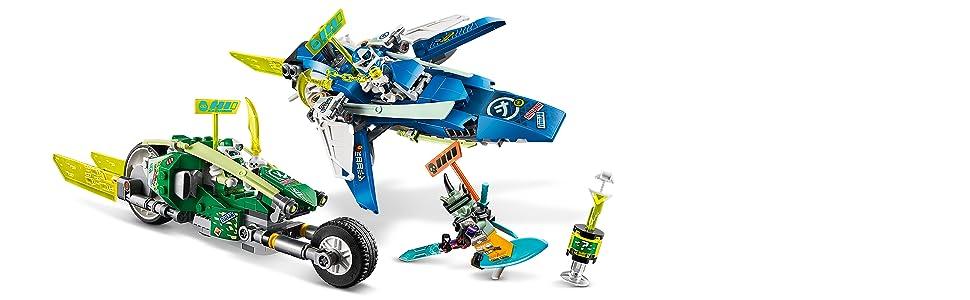 LEGO NINJAGO Jay and Lloyd's Velocity Racers