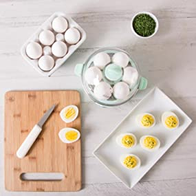 egg, cooker, deluxe, boiled, eggs, omelet, omelette, scrambled, poached, deviled