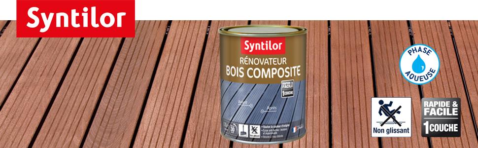 Rénovateur Bois Composite Incolore 4l Amazon Fr Bricolage