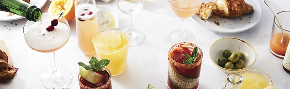 Drinks, cocktails, mimosa, bloody mary, sparkling, brunch