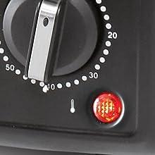 Spia di segnalazione temperatura termostato