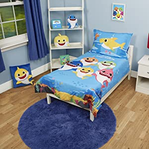 Baby Shark Toddler Bedding Set