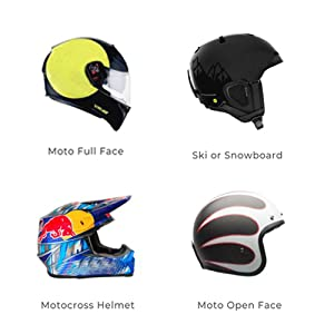 Ski or Snowboard helmet motocross helmet or Moto open face helmet