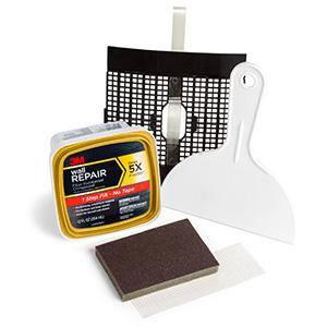 Amazon Com 3m Large Hole Wall Repair Kit With 12 Fl Oz