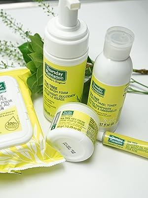 Thursday Plantation, Tea Tree Oil, Tea Tree, Teatree, skincare, natural, acne, face wash, acne gel