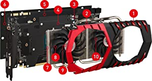 TWIN FROZR VI; GTX; GTX 1000; GTX 1080; GAMING; GTX 1080 Ti