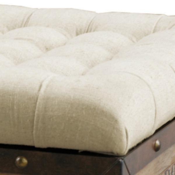 Round Ottoman With Casters