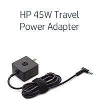 HP 45W Travel Power Adapter