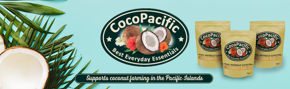CocoPacific - Harina de coco bio, 1 kg: Amazon.es: Alimentación y bebidas