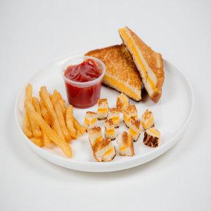 cut food into tiny bites