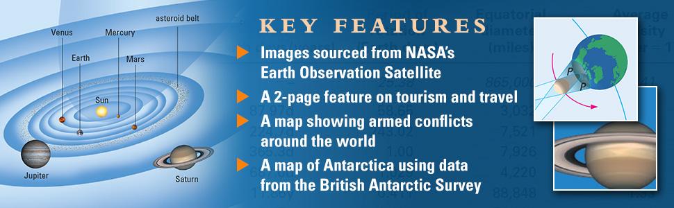 features, NASA