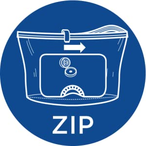 How to use Ziploc Cube Bags - Step 2: Zip