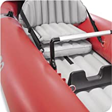 Intex 68309NP - Kayak hinchable K2 Excursion Pro con 2 remos e ...